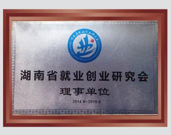 湖南省就业创业研究会